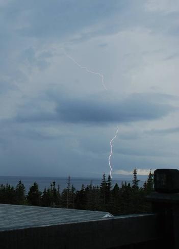 LIGHTING STRIKE Cavendish, Newfoundland and Labrador Canada