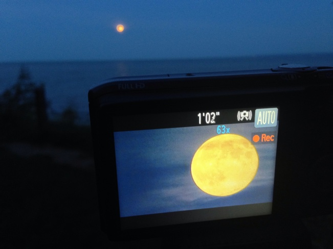 super moon from burlington Burlington, Ontario Canada