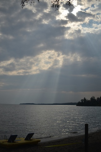 Before the storm. Thunder Bay, ON