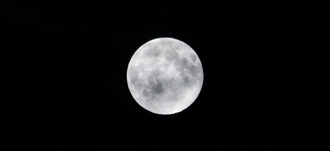 Supermoon Oromocto, NB