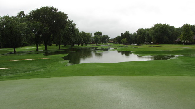 Roseland Golf Course Flooded