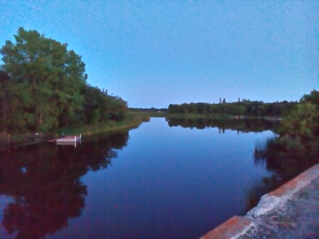A great night for fishing. Petersfield, MB