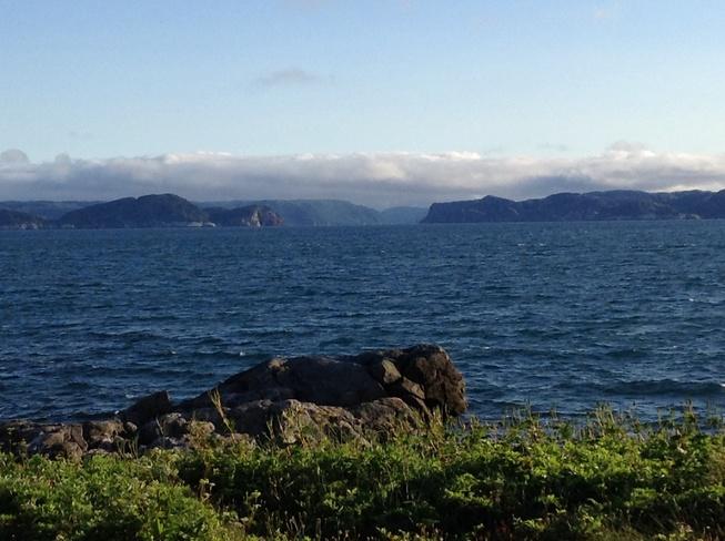 Looking at White Bear Bay Ramea, Newfoundland and Labrador Canada
