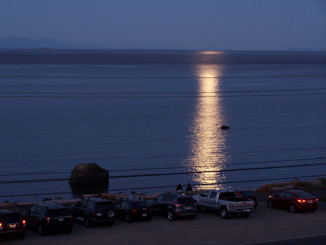 Night of the Supermoon Campbell River, BC