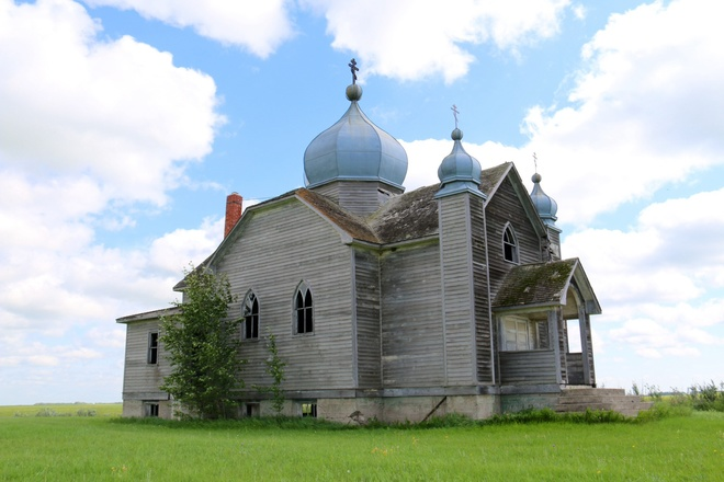 Abandoned church Fosston, sk