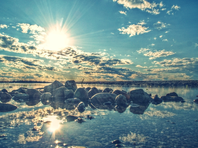 rocky sunset Sarnia, ON