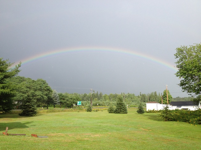 after the rain!! St. Margarets, New Brunswick Canada