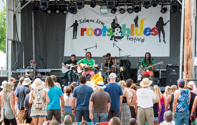 Roots and Blues 2014 Salmon Arm, BC