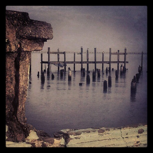 old docks after katrina
