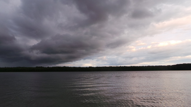 Storm Clouds Moving In Over Cameron Lake 2-22 Birchwood Drive, Tobermory, ON N0H 2R0, Canada