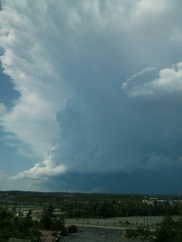 Early August Storm over Bedford / Halifax Bedford, NS