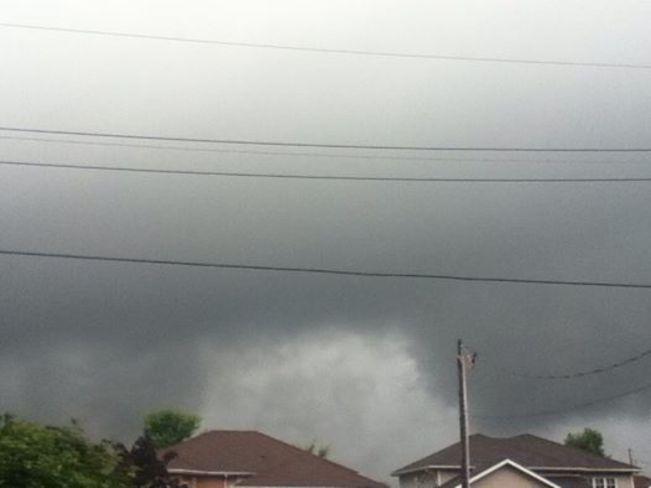 Ominous Sky Stayner, ON
