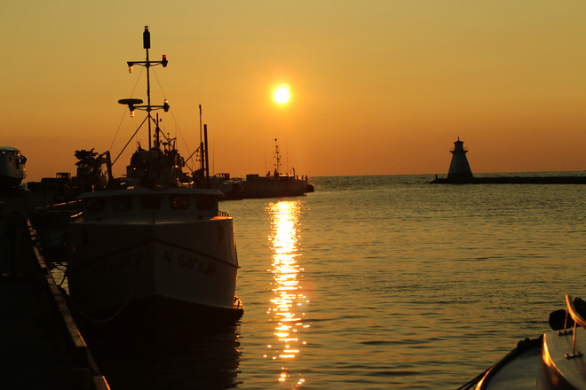 Sunset at its best Southampton, Ontario