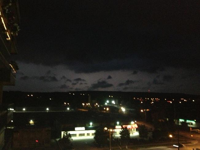 stormy clouds Aldershot, Ontario Canada