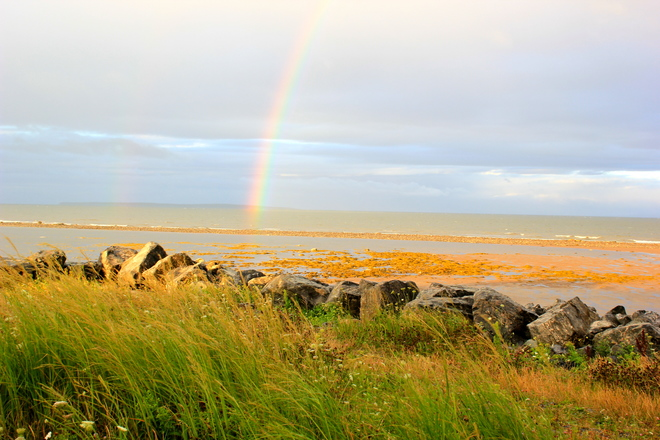 Pictou island rainbow 1828-1836 Caribou Island Road, Pictou, NS B0K 1H0, Canada