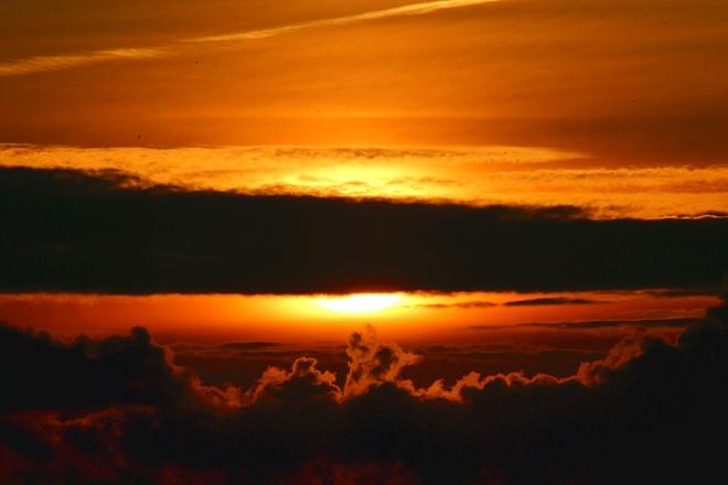 Sunset tonight Saskatoon, sk