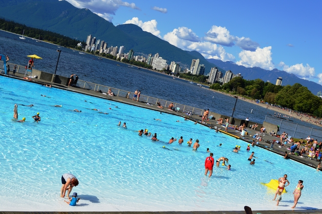 Beat the heat! Vancouver, BC