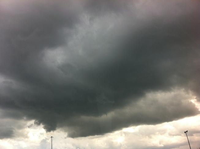 storm clouds Weston, Ontario Canada