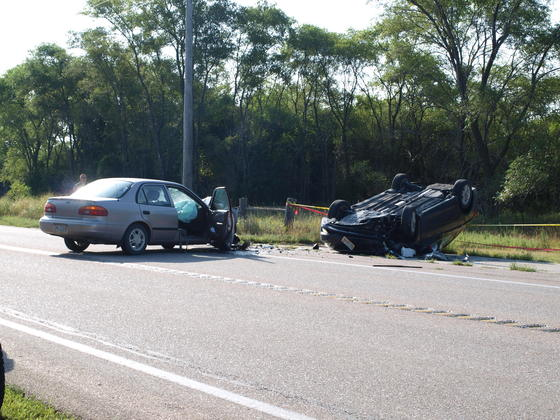 Friday Morning Accident Highway 30 West of Fremont