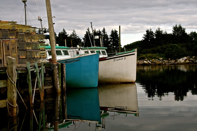 Moose Harbour. Liverpool, NS
