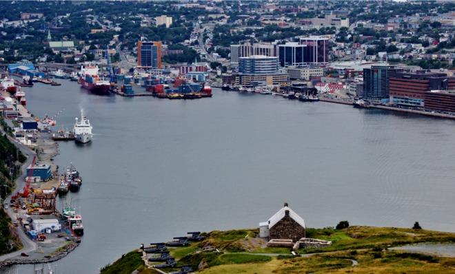 St. John's Harbour. St. John's, NL