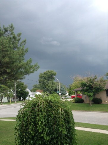 Storms Are Rolling In Windsor, Ontario Canada