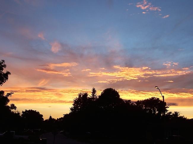 Beautiful sunset. Amherstburg, ON