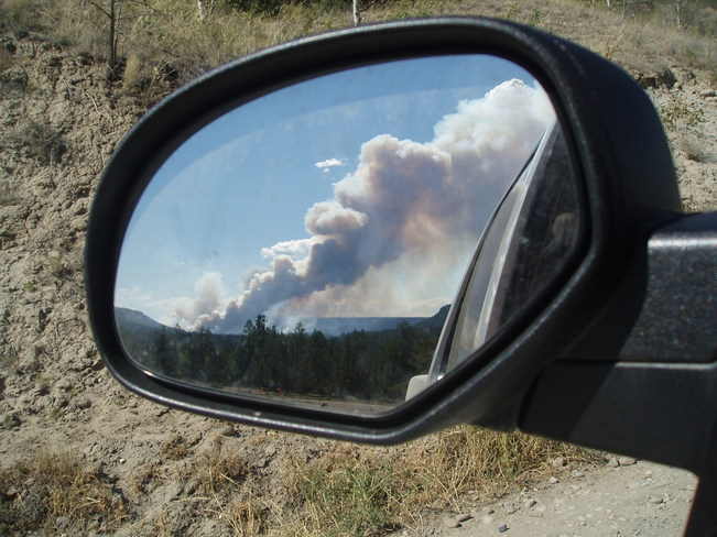 Fire in Mirror is closer than it appears British Colombia