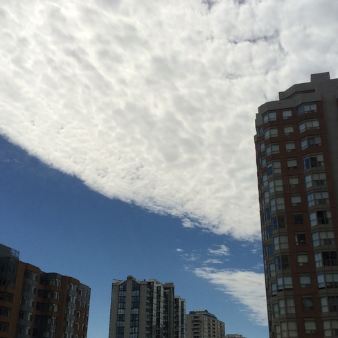 Clouds Mississauga, Ontario Canada