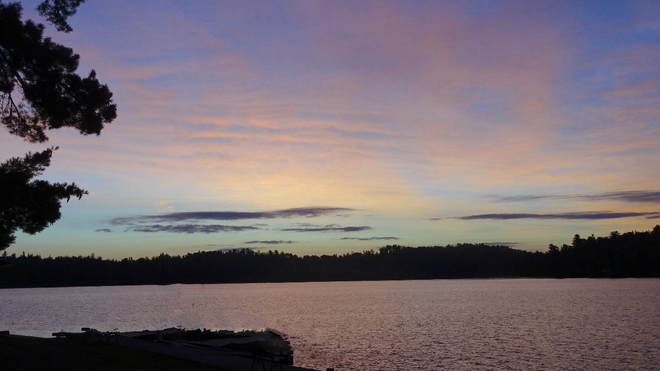 Sunrise at Clearwater Lake, Rainy River District, ON Burditt Lake, Rainy River District, ON