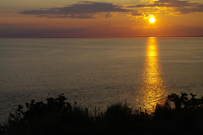 Sunset at Southern Head on Grand Manan Route 776, Grand Manan, NB E5G, Canada