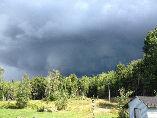Storm Clouds Rolling in Dundas, New Brunswick Canada