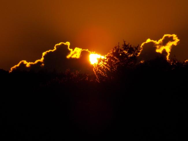 Sundown over Bridgewater NS Bridgewater, NS