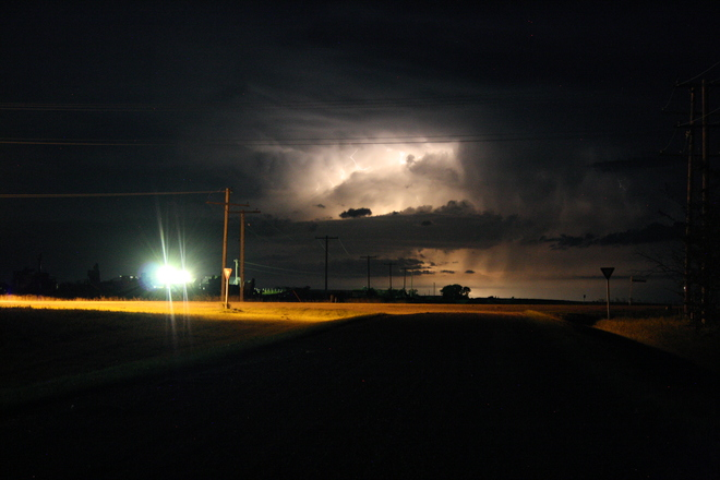 Storm over the Southern Prairies 410 Main Street, Ogema, SK S0C 1Y0, Canada