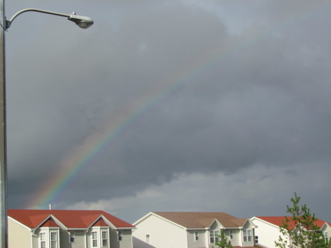 A rainbow over Mount Pearl Mount Pearl, Newfoundland and Labrador Canada