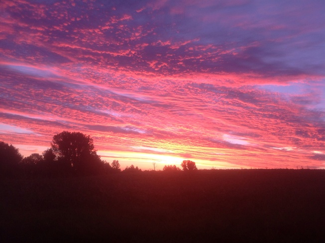Amazing Sunrise Walkerton,Ontario