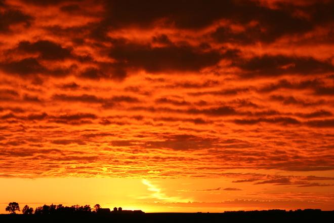 Sunset Estlin, Saskatchewan