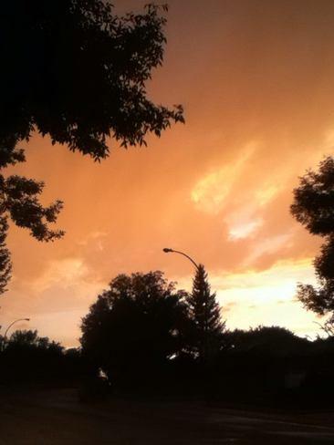 Beautiful sky Regina, SK
