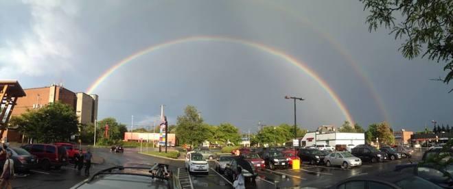 Double Rainbow Ottawa, ON