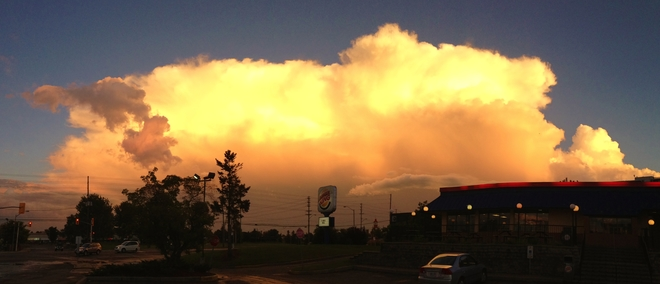 Sunset Storm Cloud Ottawa, ON