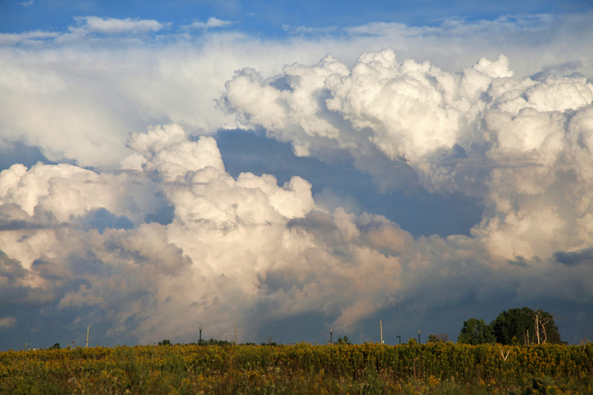Fantastic clouds past the storm! London, ON