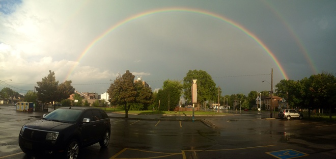 after the storm St. Thomas, Ontario Canada