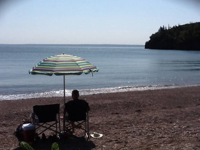 Waiting for the Fundy HighTide Advocate Harbour, Nova Scotia Canada