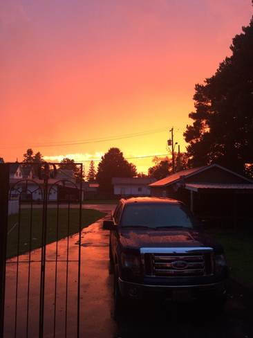 after the storm Sturgeon Falls, Ontario Canada