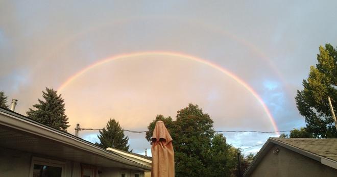 Double Rainbow Calgary, Alberta Canada