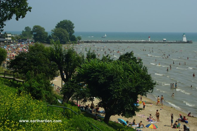 Port Dover's Welcome Relief From The Heat Port Dover, ON