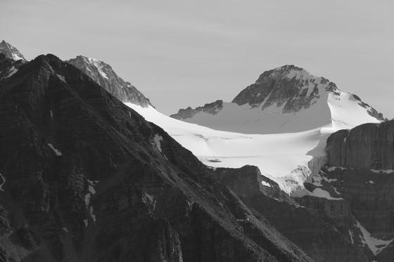 Alberta Rockies & Glacier, in Black & White