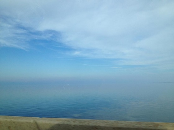 Haze Horizon on Causeway 9/17/14 6:00pm