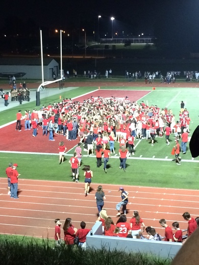 Park Hill celebrates victory over Park Hill South