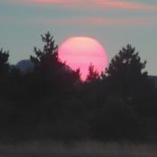 Sunset over Wells Next Sea